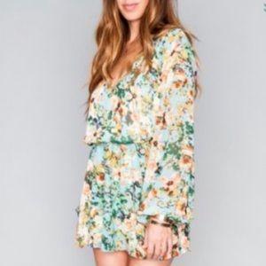 Show Me Your Mumu Rainey Mini Dress.